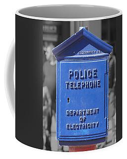 Police Box Coffee Mug