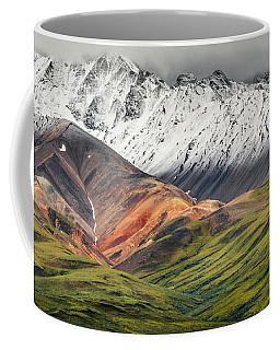 Polychrome Mountain, Denali Np, Alaska Coffee Mug