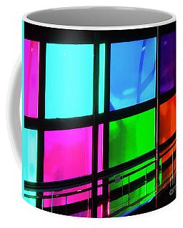Coffee Mug featuring the photograph Polychrome Passageway by Rick Locke