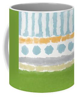 Poolside 3- Art By Linda Woods Coffee Mug