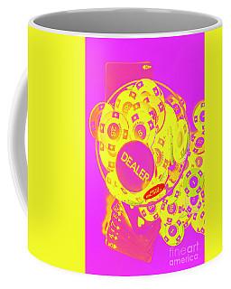 Pop Art Poker Coffee Mug