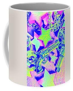 Pop Art Police Coffee Mug