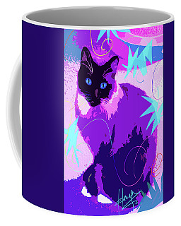 Pop Cat Cocoa Coffee Mug