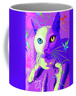pOp Cat Cotton Coffee Mug