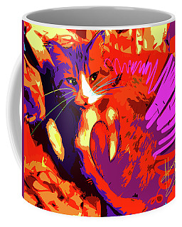Pop Cat Tiger Coffee Mug