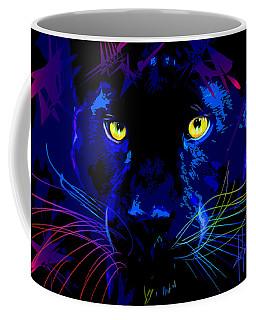 pOpCat Black Panther Coffee Mug
