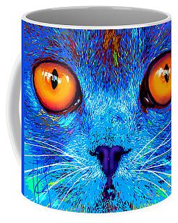 pOpCat Boe - Big Orange Eyes Coffee Mug