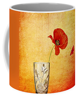 Poppy Flower Coffee Mug