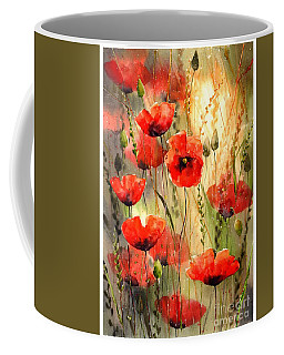 Poppy Serenade Coffee Mug