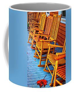 Porch Rocking Chairs Coffee Mug