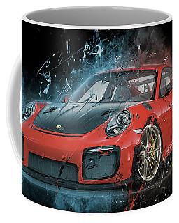 Porsche 911 Gt2 Coffee Mug