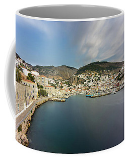 Port At Hydra Island Coffee Mug