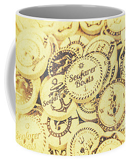 Port Holes And Anchor Buttons Coffee Mug