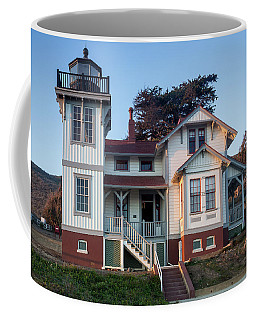 Coffee Mug featuring the photograph Port San Luis Lighthouse by Mike Long