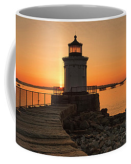 Portland Breakwater Lighthouse - Portland Harbor, Maine Coffee Mug