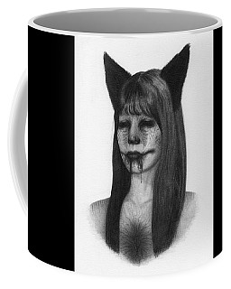 Portrait Of A Kumiho - Artwork Coffee Mug