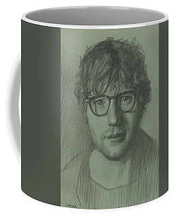 Portrait Of Ed Sheeran Coffee Mug