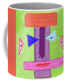 Portrait Of Mom Coffee Mug