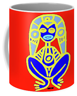 Pourto Rican Native Art Coffee Mug