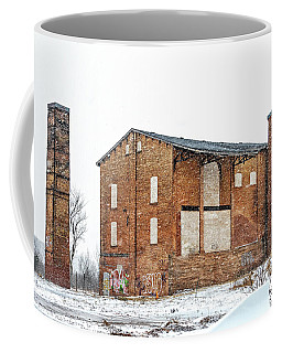 Powerless Station In A Blizzard Coffee Mug
