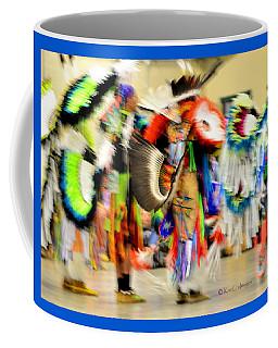 Powwow Abstraction #4 Coffee Mug