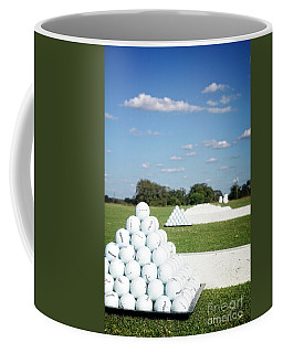 Coffee Mug featuring the photograph Practice Range by Scott Kemper