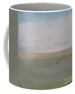 Coffee Mug featuring the painting Prairie Home by Kim Nelson