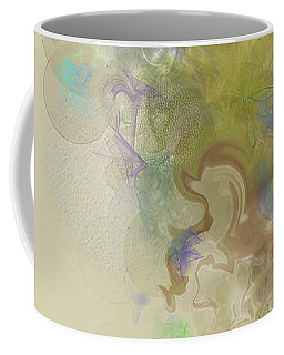 Coffee Mug featuring the digital art Prelude Dreams Of Spring by Gina Harrison
