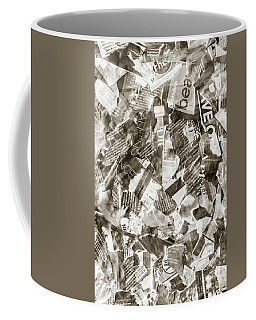 Press Print Parchment Coffee Mug