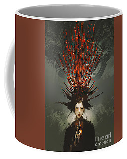 Prey With A Gun Coffee Mug