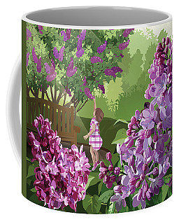 Coffee Mug featuring the drawing Print by Clint Hansen