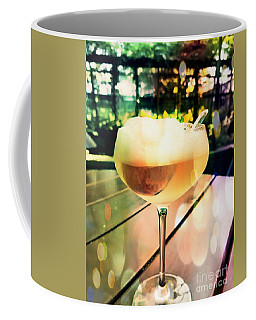 Coffee Mug featuring the photograph Prosecco Float by Rachel Maynard