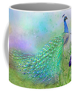 Proud Peacock Coffee Mug