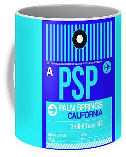 Psp Palm Springs Luggage Tag II Coffee Mug