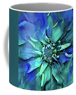 Psychedelic Blues Coffee Mug