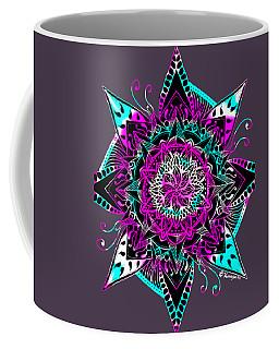 Psychedelic Mandala Coffee Mug