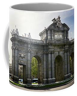 Puerta De Alcala In Madrid, Spain Coffee Mug