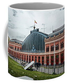 Puerta De Atocha Railway Station Coffee Mug