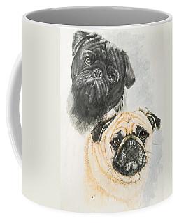 Pug Brothers Coffee Mug
