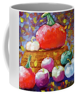 Pumpkins And Apples Coffee Mug