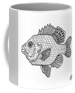 Pumpkinseed Fish Coffee Mug