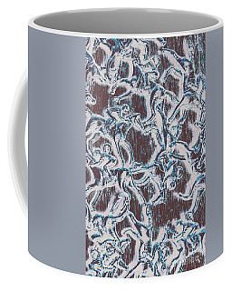 Punting Pattern Coffee Mug