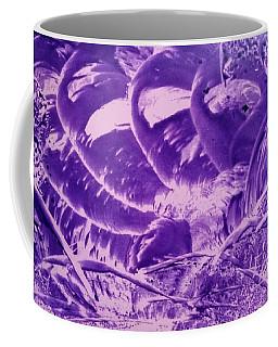 Purple Abstract, Octopus Coffee Mug