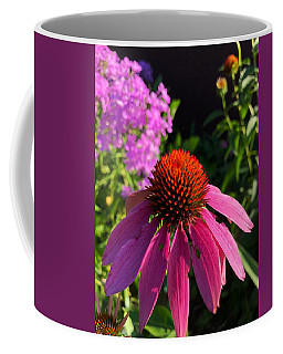 Coffee Mug featuring the photograph Purple Coneflower by Lukas Miller
