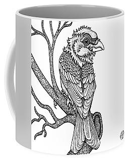 Purple Finch Coffee Mug