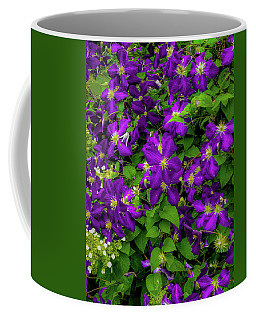 Coffee Mug featuring the photograph Purple Flowers by Lora J Wilson