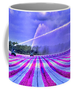 Coffee Mug featuring the photograph Purple Grain by Wayne King