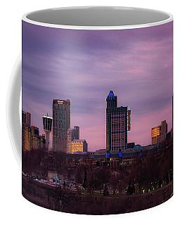 Purple Haze Skyline Coffee Mug