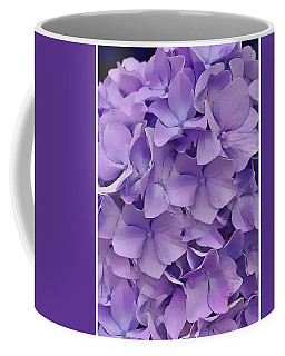 Purple Hydrangea  Coffee Mug