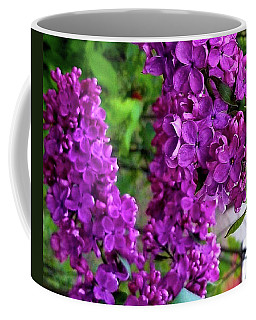 Purple Lilac Parade Coffee Mug